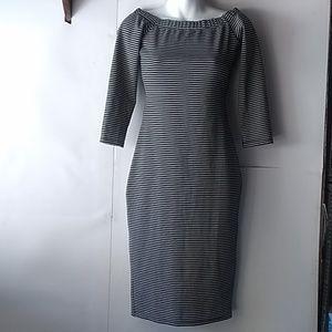 Zara spring summer 2017 black white dress